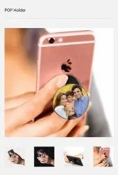 Blank Sublimation Personalized Pop Holder Mobile Socket