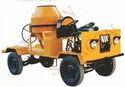 Self Drive Concrete Mixer Without Hopper