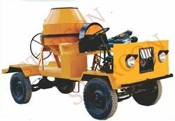 Self Drive Concrete Mixer without Hopper