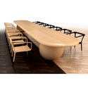 Wooden Long Conference Table