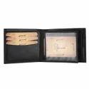LWFM00147 Black Mens Leather Wallet
