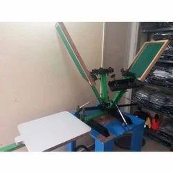 Manual Heavy Duty Screen Printing Machine
