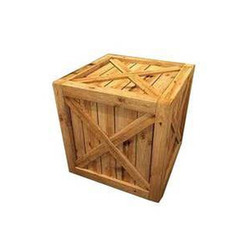 Square Shape Wooden Crate Boxes