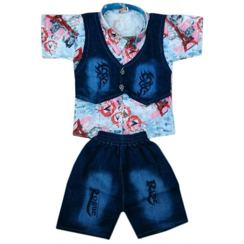 e2b61c8a0 Cotton Or Denim Kids Baby Boy Baba Suit, Rs 105 /piece, Maruf ...