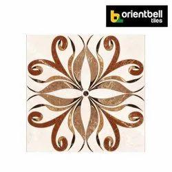 Orientbell ODG HITKARI BROWN Highlighter Floor Tiles, Size: 395X395 mm