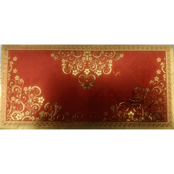 Cardboard Rectangular Gold Plated Envelopes