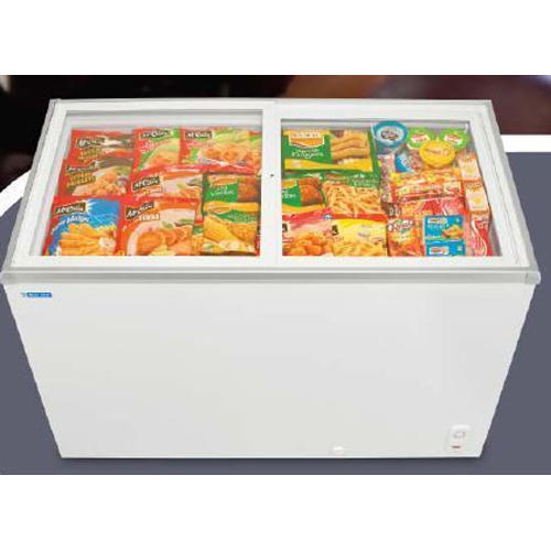 Glass Top Deep Freezer