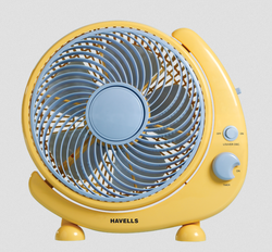 Crescent 250 mm Yellow Personal Fan