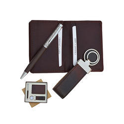 Leather Card Holder Gift Set