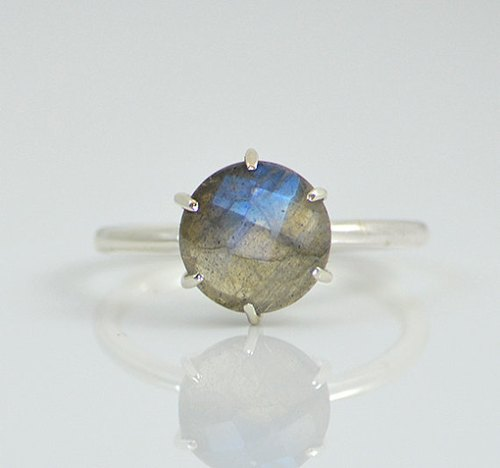 Blue Labradorite Ring