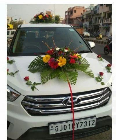 Car decoration services flower bucky service provider from ahmedabad car decoration services junglespirit Choice Image