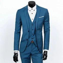 Georgette Blue Party Wear Suits, Size: 36-44