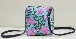 Printed Square Slings Bag