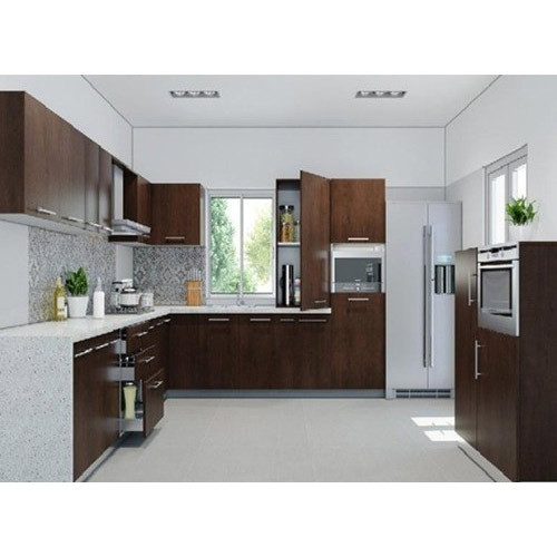 Residential Pvc Modular Kitchen, Warranty: 10-15 Years