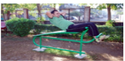 OUTDOOR GYM ABS BENCH