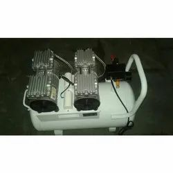 Oil Free and Noise Free Dental Air Compressor