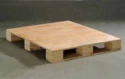 Plywood Pallet, Capacity: 500 - 2000 Kg