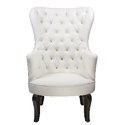White Designer Lounge Chair