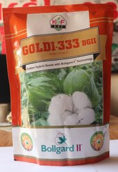 Dried BT Cotton Seed Goldi 333 BGII for Agriculture, Packaging Type: Packet