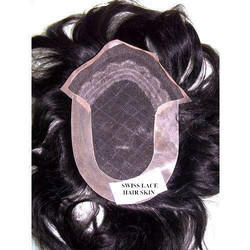 Swiss Lace Human Hair Skin/Toupee/Patch