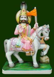 Marble Ramdevji Statue