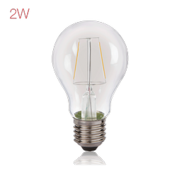 Bright Fill LED Filament A60 - 2 W Bulb