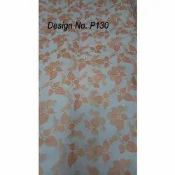P130 Metallic Printed Fabric
