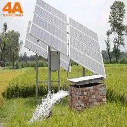 Commercial Solar Plant Civil Works Service, On Site