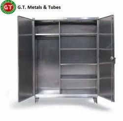 SS Garment Hanging Cabinet