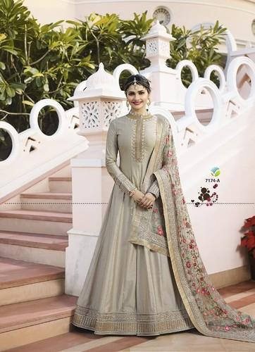 defc696458 Vinay Fashion Georgette Designer Anarkali Salwar Suit, Rs 2275 ...