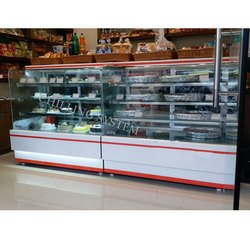 SS Cakes Glass Display Counter