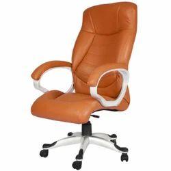 Orange Colored Ergonomical Chair