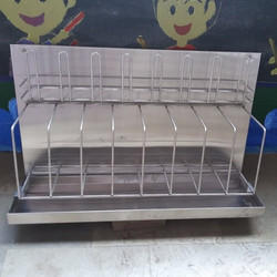 BED PAN BOTTLE RACK