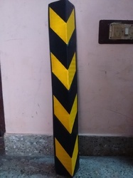 Rubber Column Guard L Type With Stickers