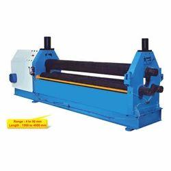 3 Roll Pyramid Type Hydro-Mechanical Sheet Rolling Machine