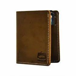 Moustache Vegan Leather Front Pocket Wallet