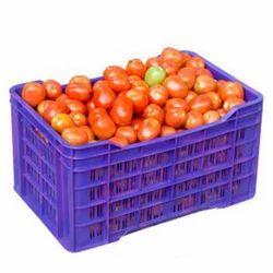 Rectangular Plastwell Plastic Vegetable Crate, Capacity: 20 Kg