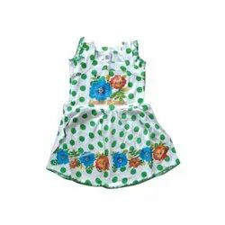 Kids Printed Cotton Frock