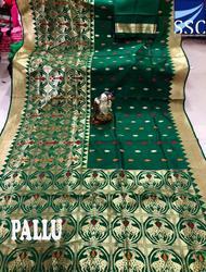 SSC Stylish Party Wear Banarasi Jacquard Saree