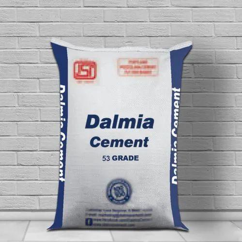 OPC (Ordinary Portland Cement) Dalmia Ultra Cement, Cement Grade: Grade 53, Packaging Size: 50 Kg