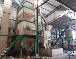 8-10 Mt/hr Automatic And Manual Pellet Feed Plant