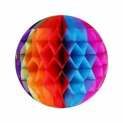 Honeycomb Paper Ball, For Home Decoration