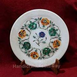 Makrana Marble Inlay Plates