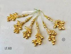 Shiv Om Golden Fancy Latkan, Packaging Type: Packet