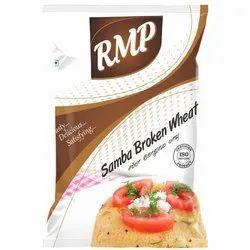 RMP Samba Broken Wheat, Packaging Type: Packet, Packaging Size: 500 Gm