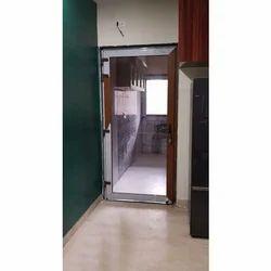 Casement Toughened Glass UPVC Openable Door, 5mm Tuff