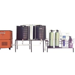 1000 LPH  Industrial RO Plant With Chiller