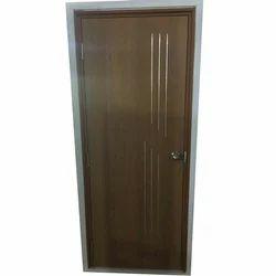 Wood mat finish UPVC Door