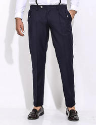 Cotton/Linen Men''S Casual Trousers
