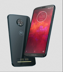 Black Lenovo Moto Z3 Play Mobile Phones